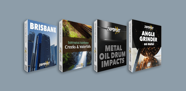 Free sound effects pack banner