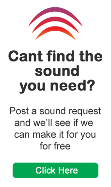 Post a sound effect request