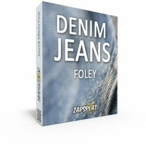 Denim Jeans Foley Sound Effects Pack