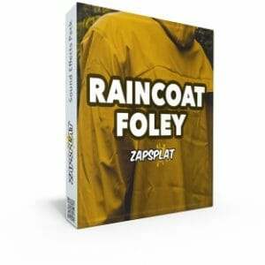 Raincoat Foley Sound Effects Pack