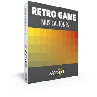 Retro Game Musical Tones free sound effects pack