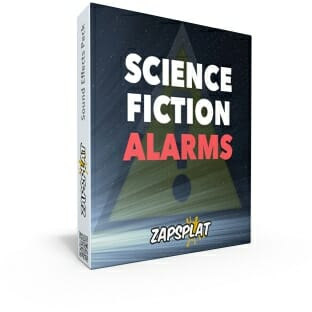 Free science fiction alarms sound effects pack