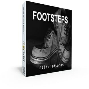Free footsteps sound effects pack
