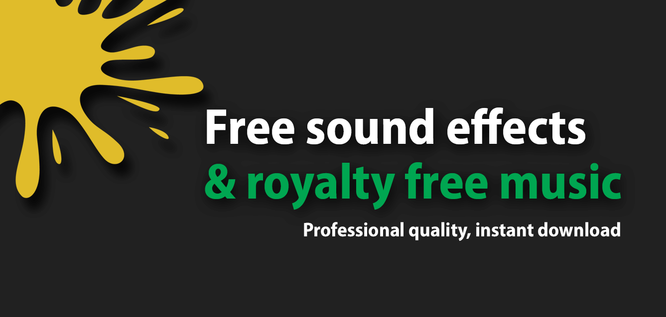 Free sound effects and royalty free music