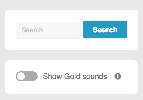 Gold toggle