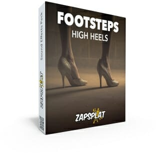 Footsteps in high heels free sound effects pack