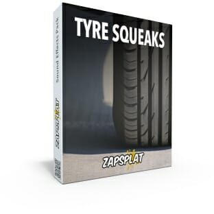 Tyre squeaks free sound effects pack