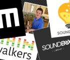New sound effects libraries logos