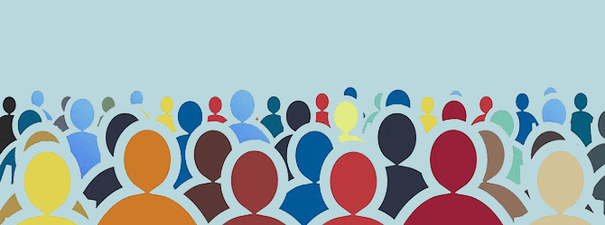 crowd of people illustration