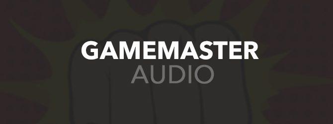 Gamemaster Audio Banner