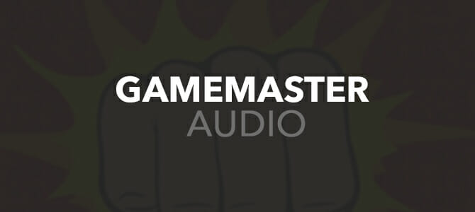 Gamemaster Audio Banner