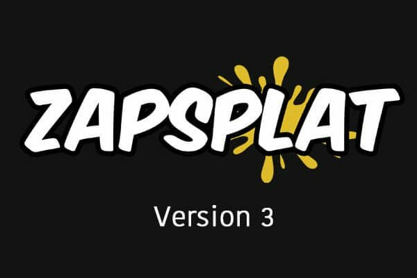 Zapsplat version 3 banner