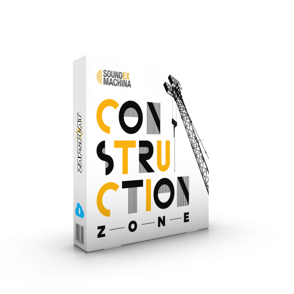 Construction Zone free sound effects pack