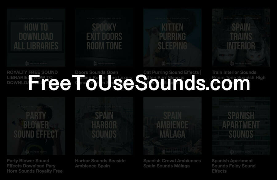 Free To Use Sounds
